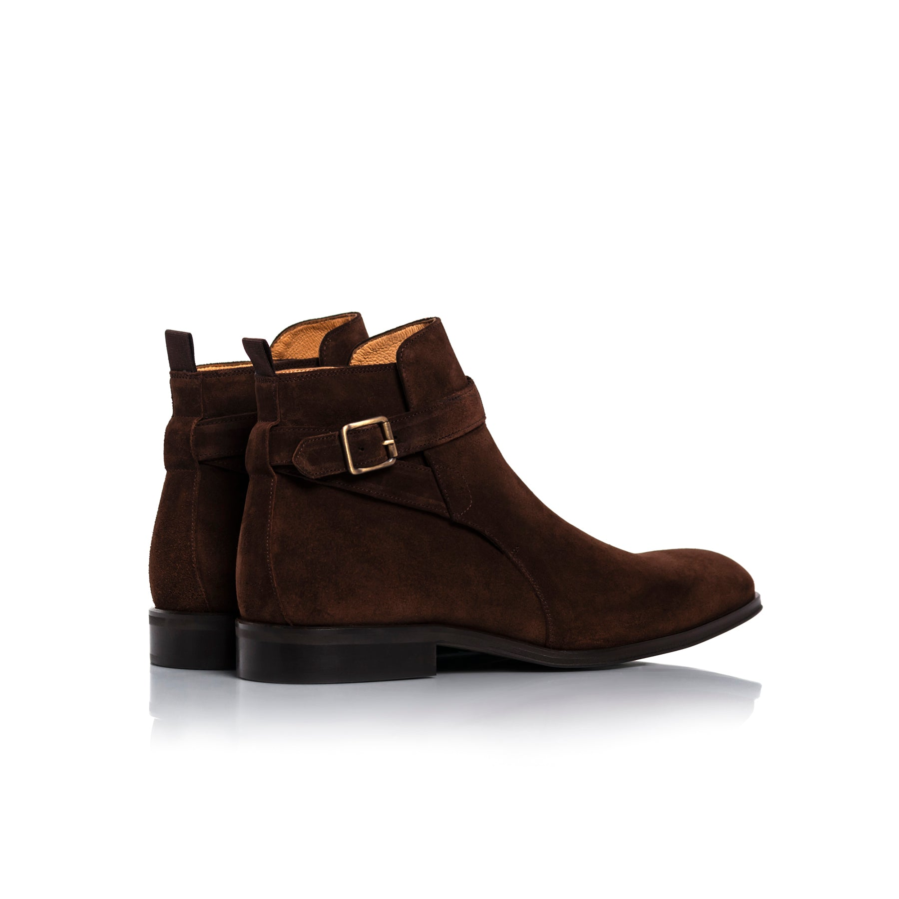 Jim Brown Suede Boots