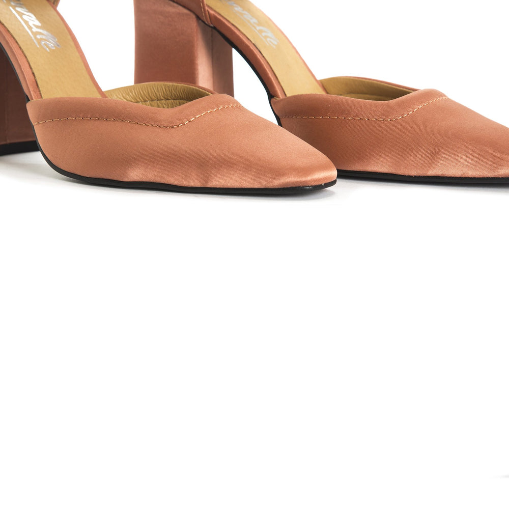 Katina Orange Satin
