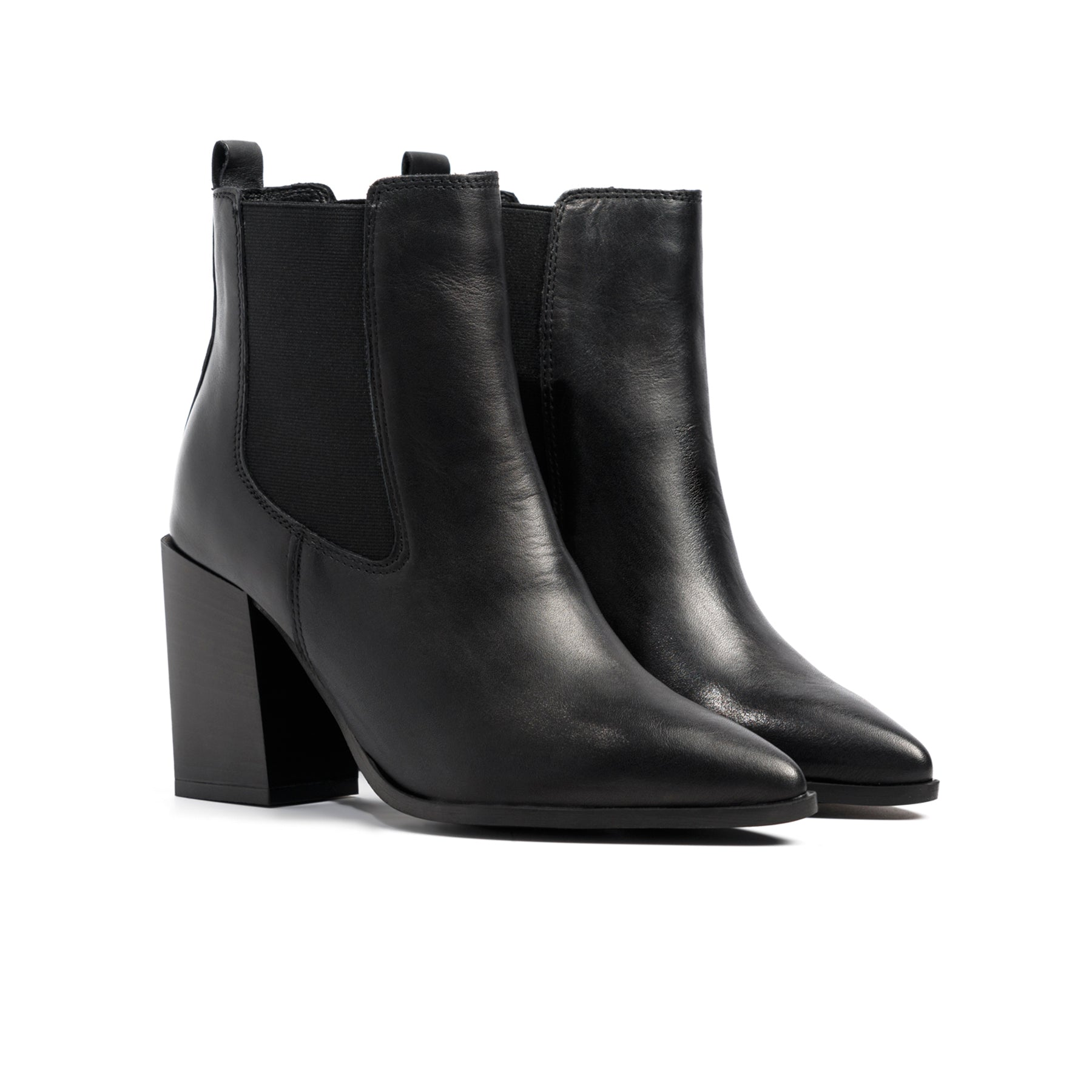 Laredo Black Leather Boots