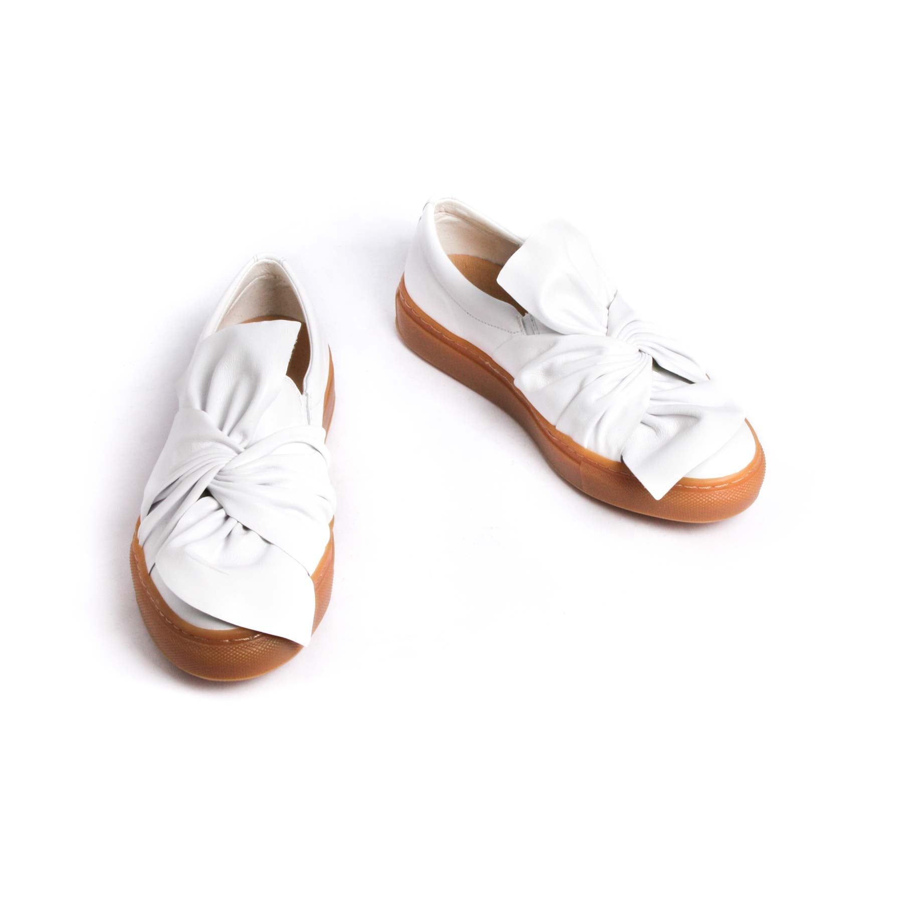 Luby White Leather- SOLD OUT