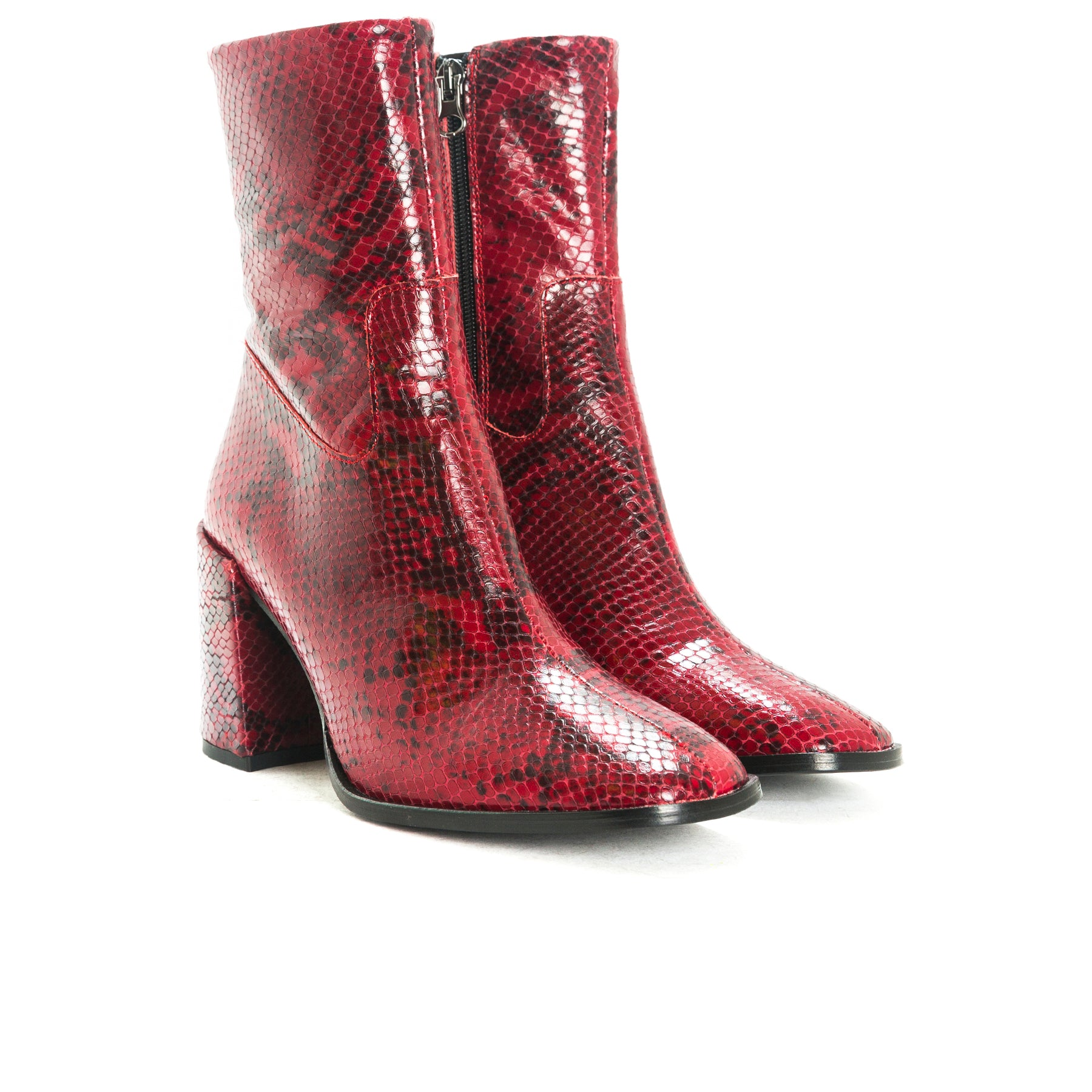 Malaga Red Snake Leather-SOLD OUT