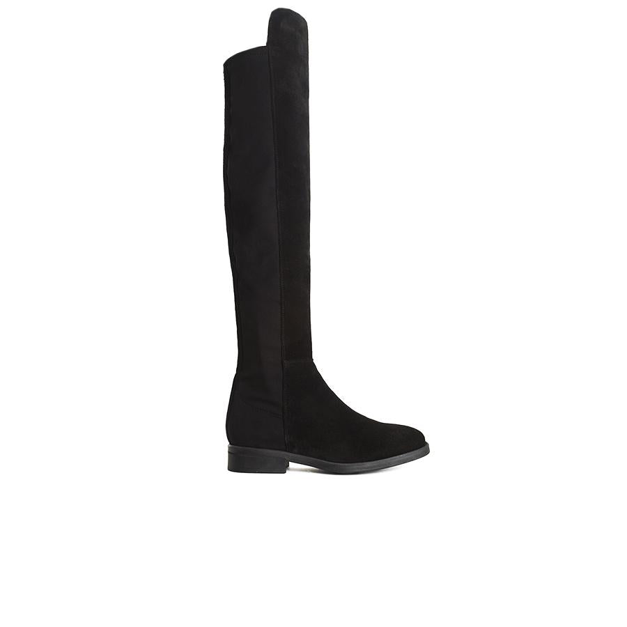 Load image into Gallery viewer, Matty Black Suede Boots