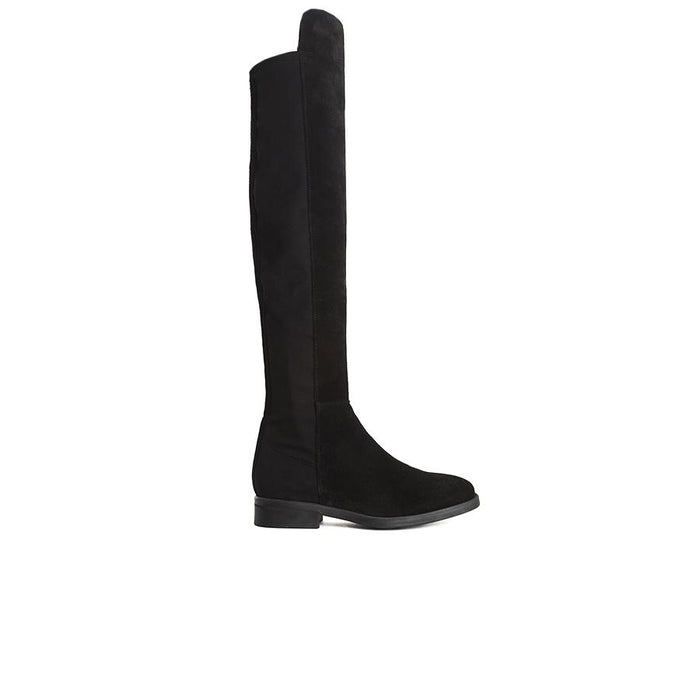 Matty Black Suede Boots