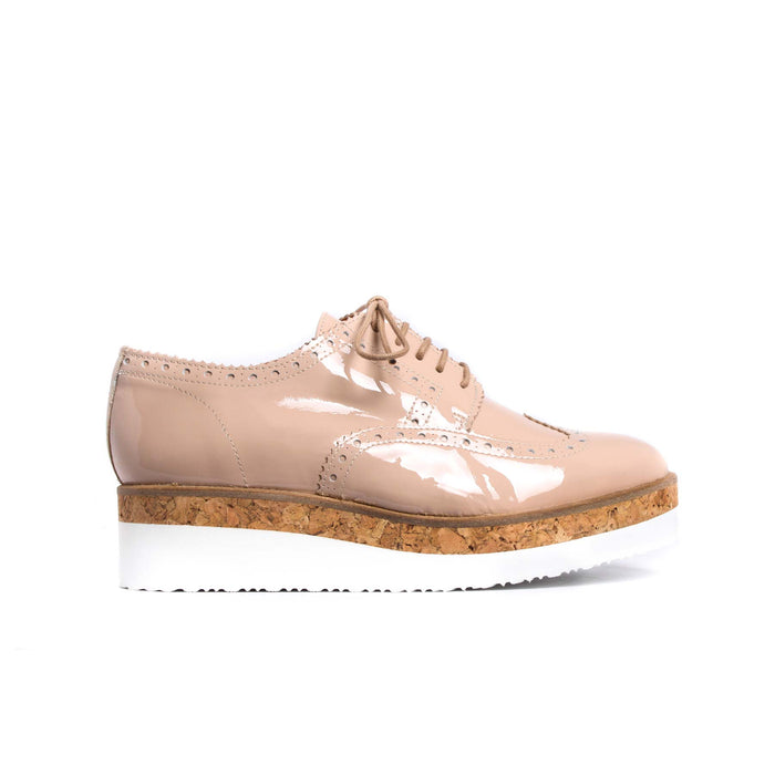 Mesinia Nude Patent Leather