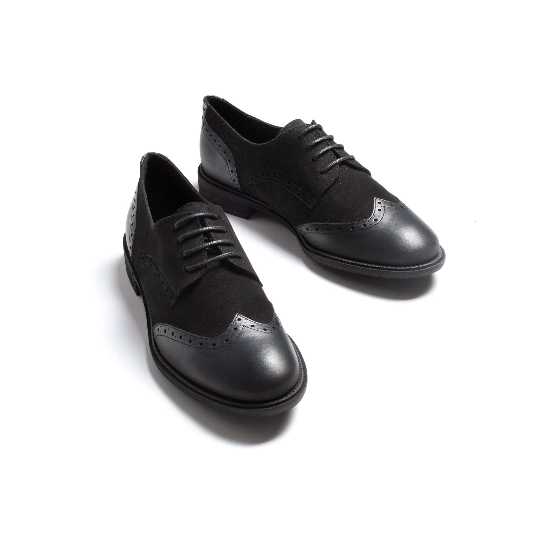 Murphy Black Leather & Suede-SOLD OUT