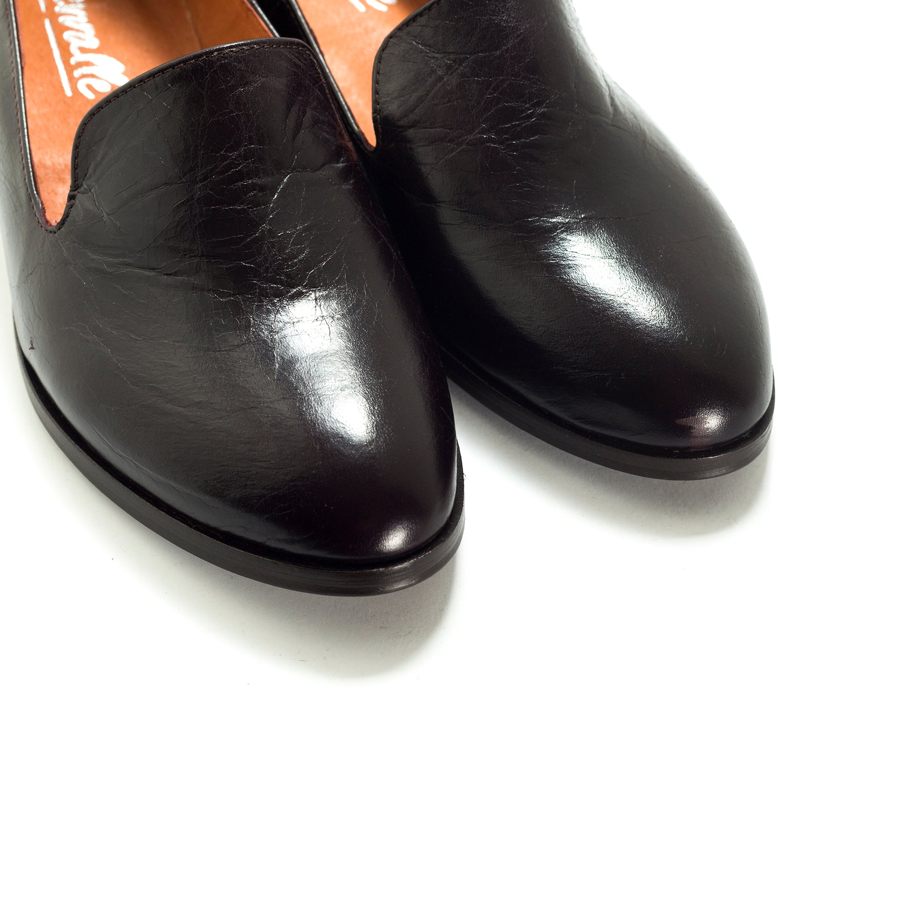 Nena Deep Bordo Leather Shoes