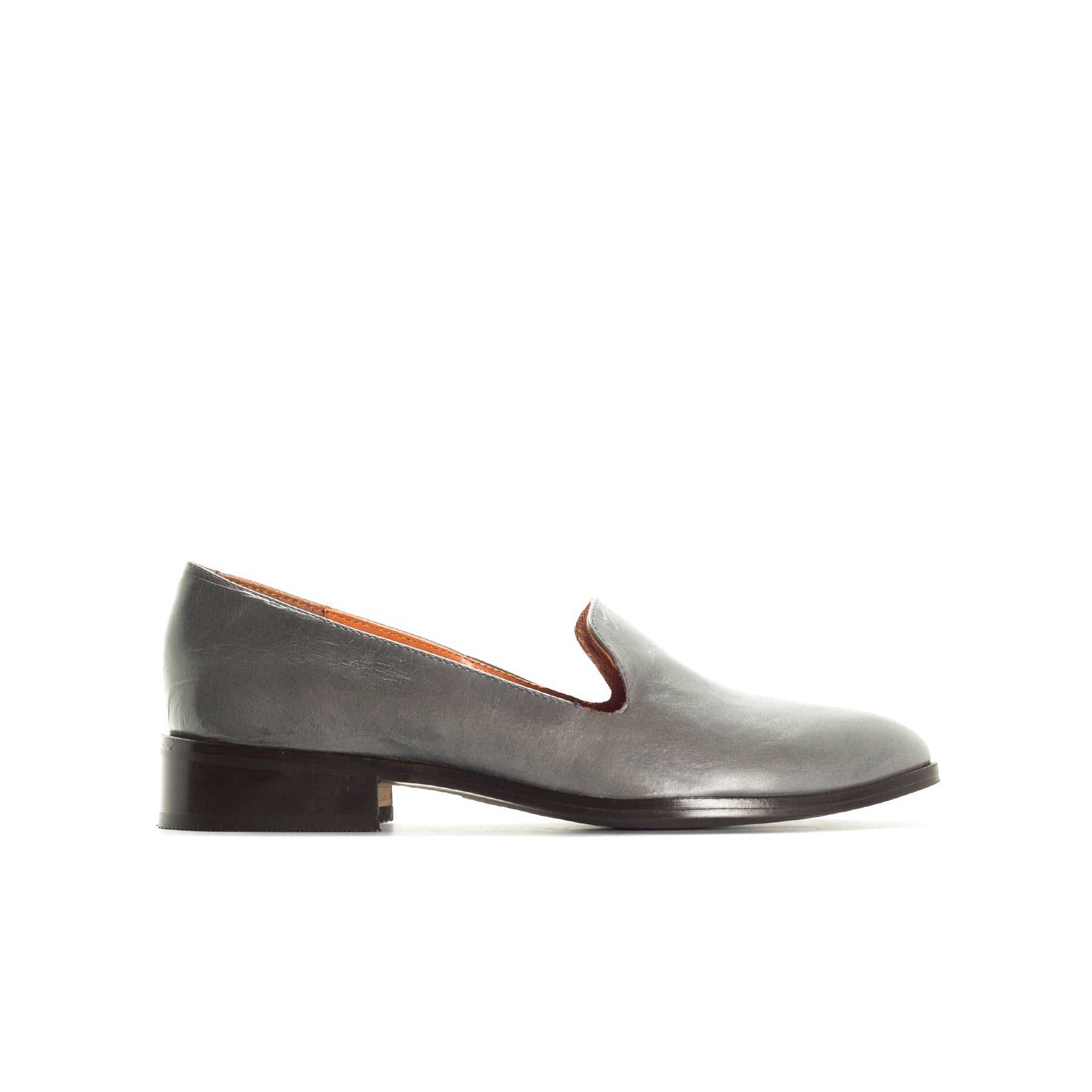 Nena Stone Leather Shoes