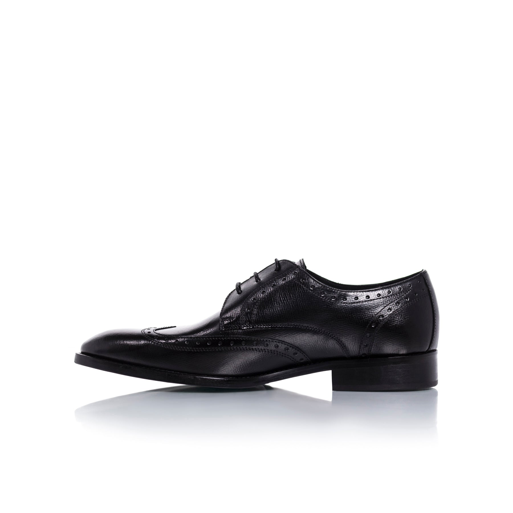 Nicholas Black Leather Shoes