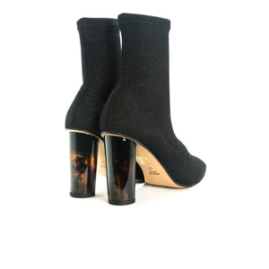 Load image into Gallery viewer, Normary Black Fabric Boots