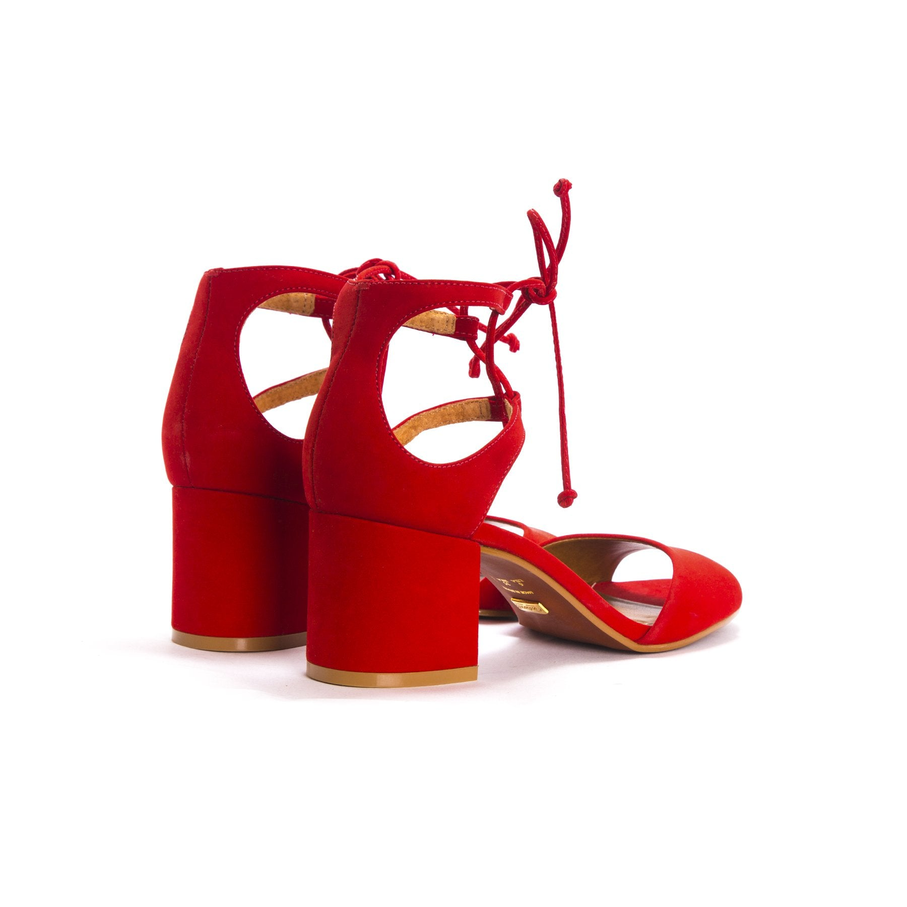 Odessa Red Suede - COMING SOON (Pre-Order)