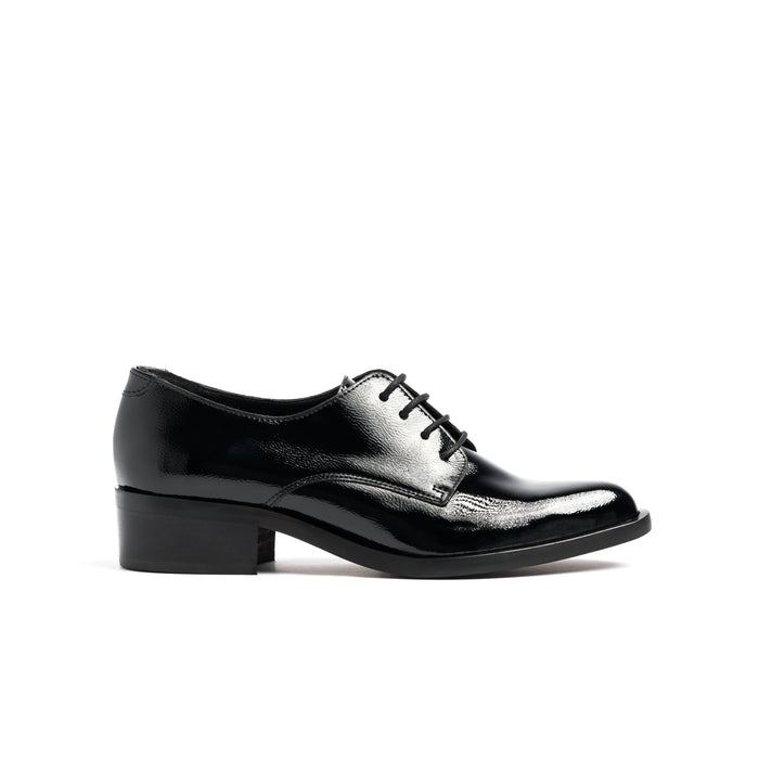 Rabat Black Patent Shoes