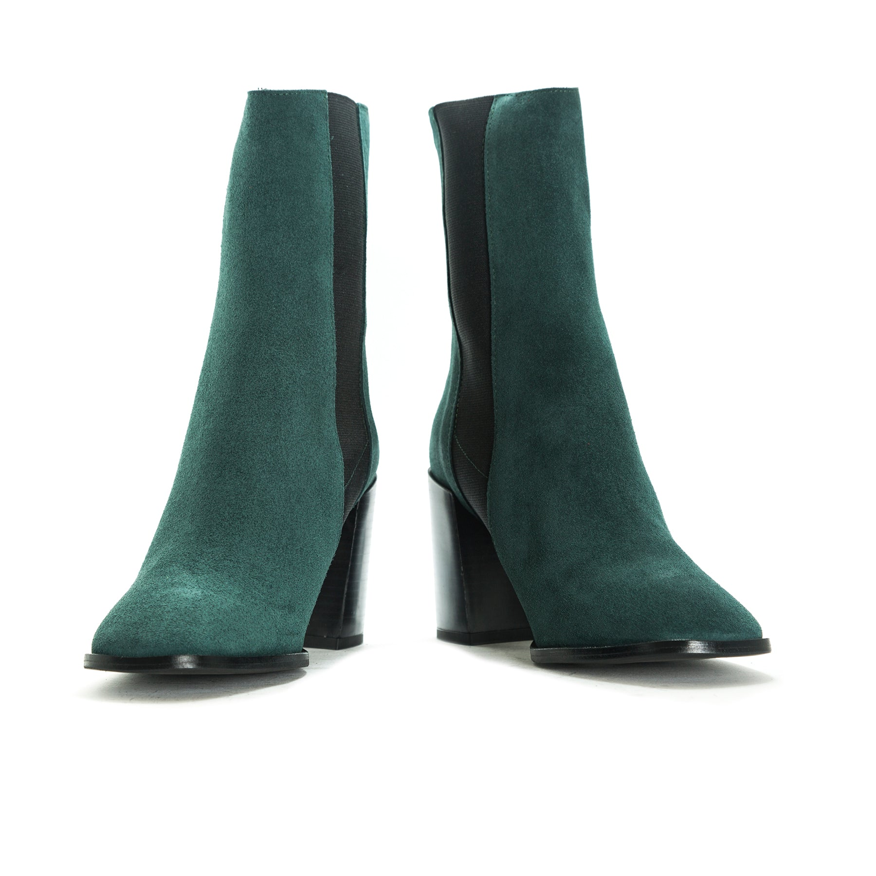 Redding Green Suede