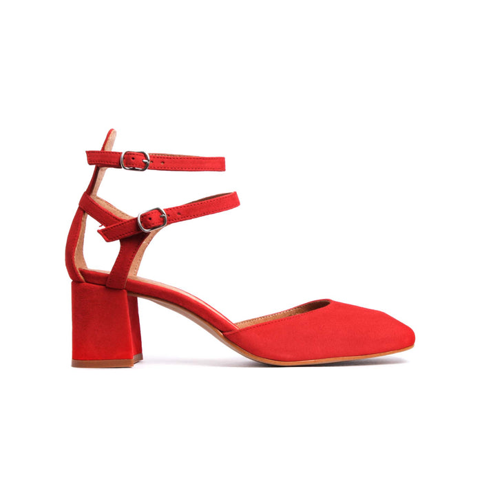Rikana Red Suede-SOLD OUT
