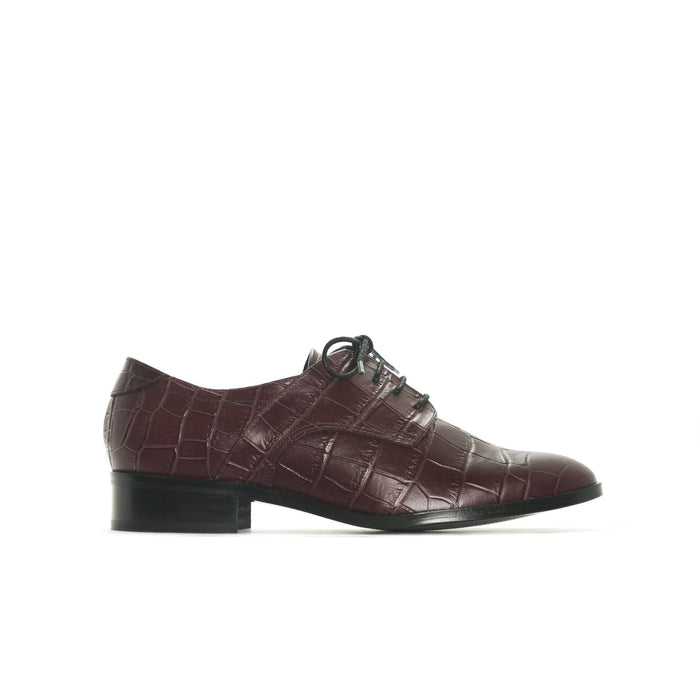 Slico Bordo Croco Leather