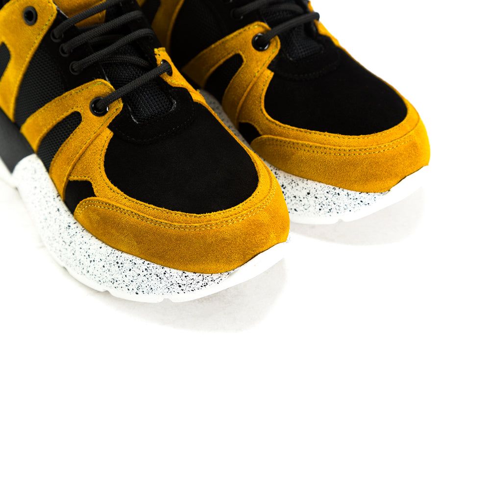 Load image into Gallery viewer, Star Black Combo Sneakers