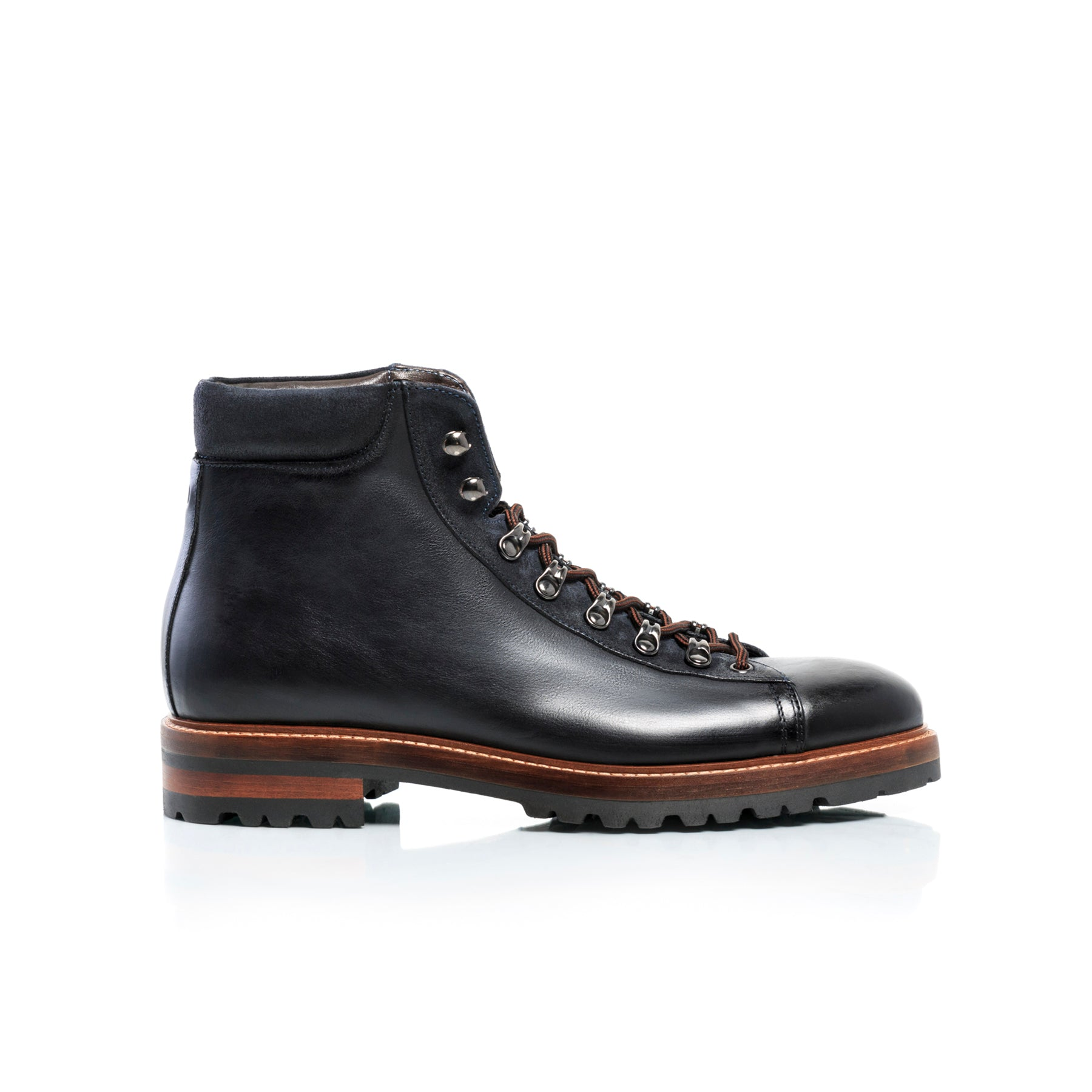 Stef Black Leather Boots - SOLD OUT