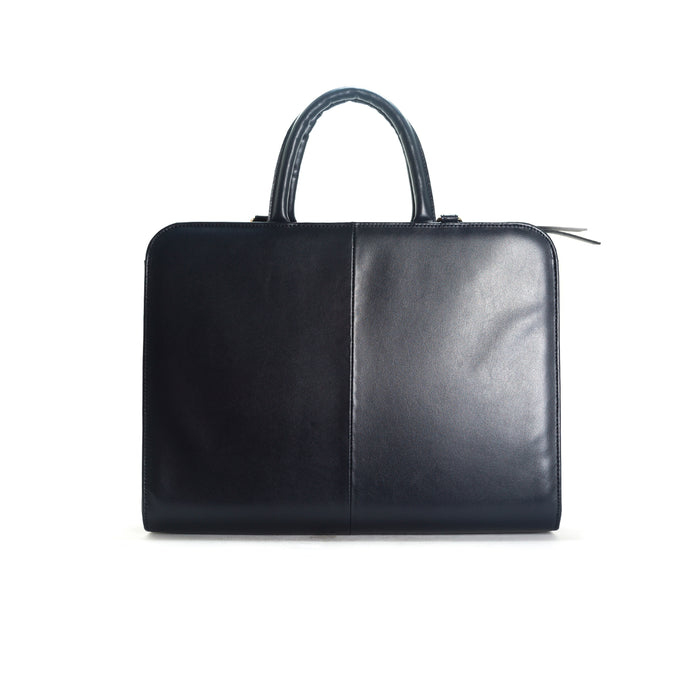 Sylvie Navy Leather Bags