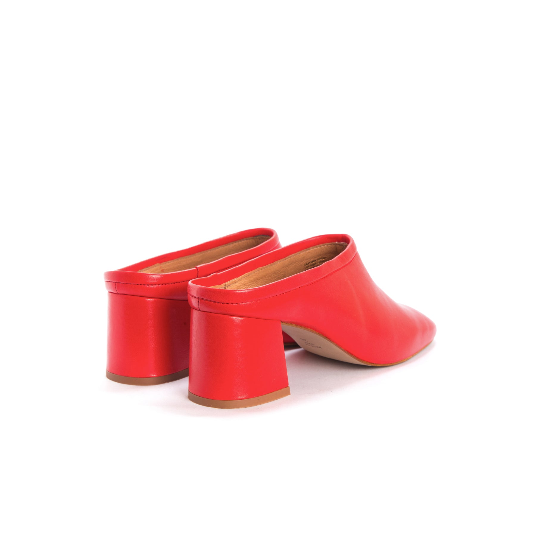L'INTERVALLE TALISA - Heeled mules - red 4NrrAcQX