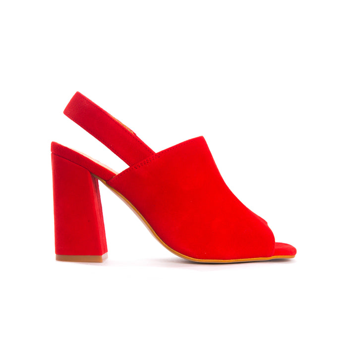Tinasi Red Suede