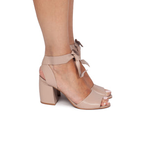 Marcia Nude Leather