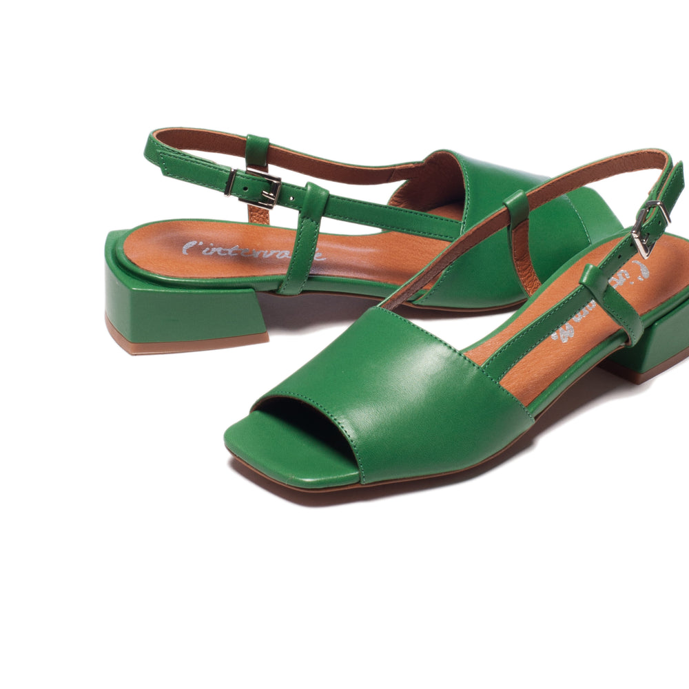 Load image into Gallery viewer, Marilla Green Leather