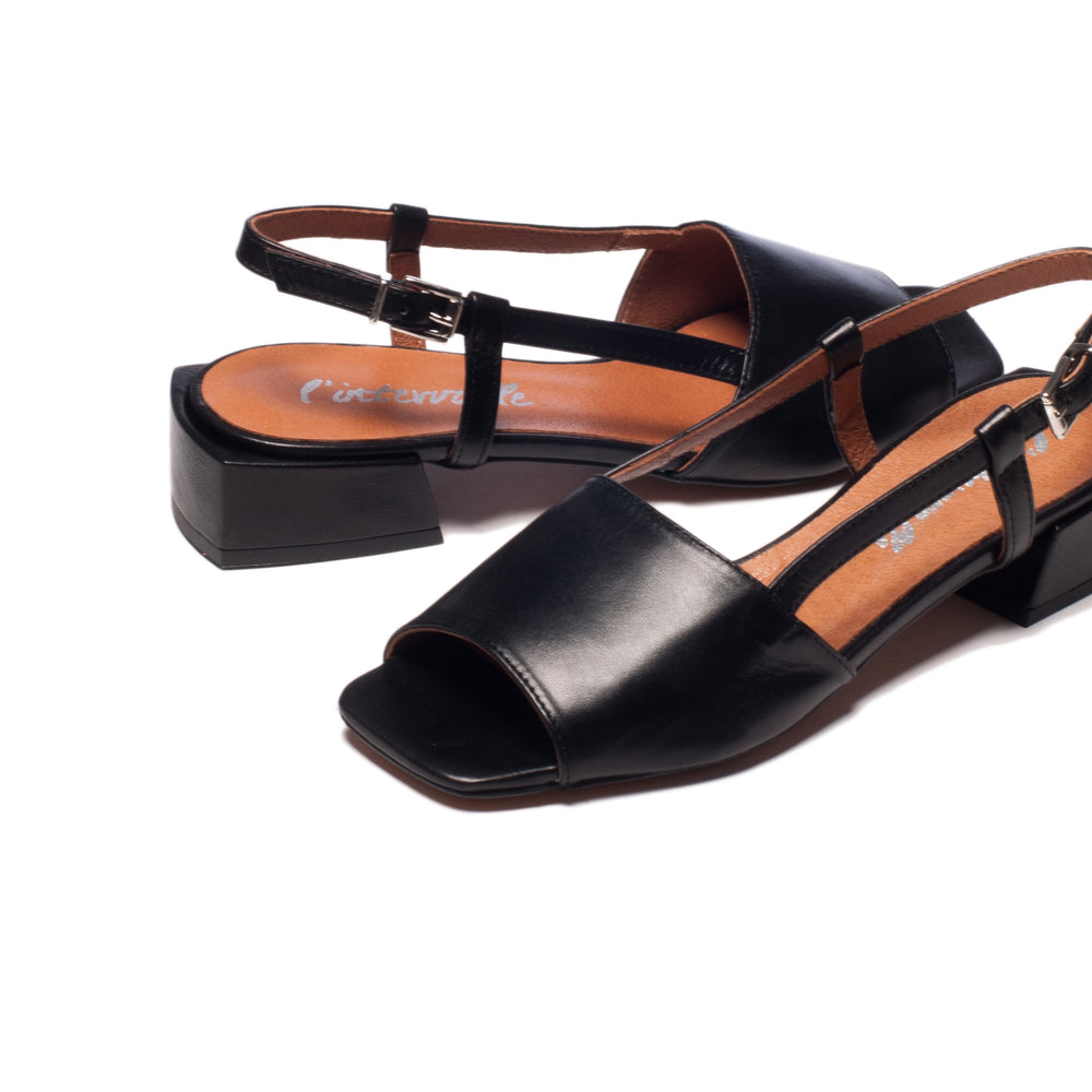 Marilla Black Leather