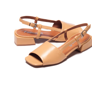 Marilla Camel Leather