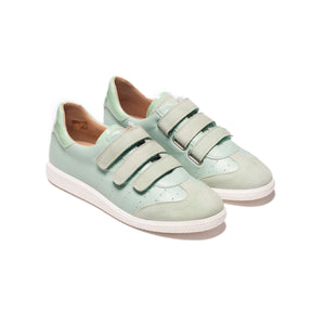 Ximena Mint Leather