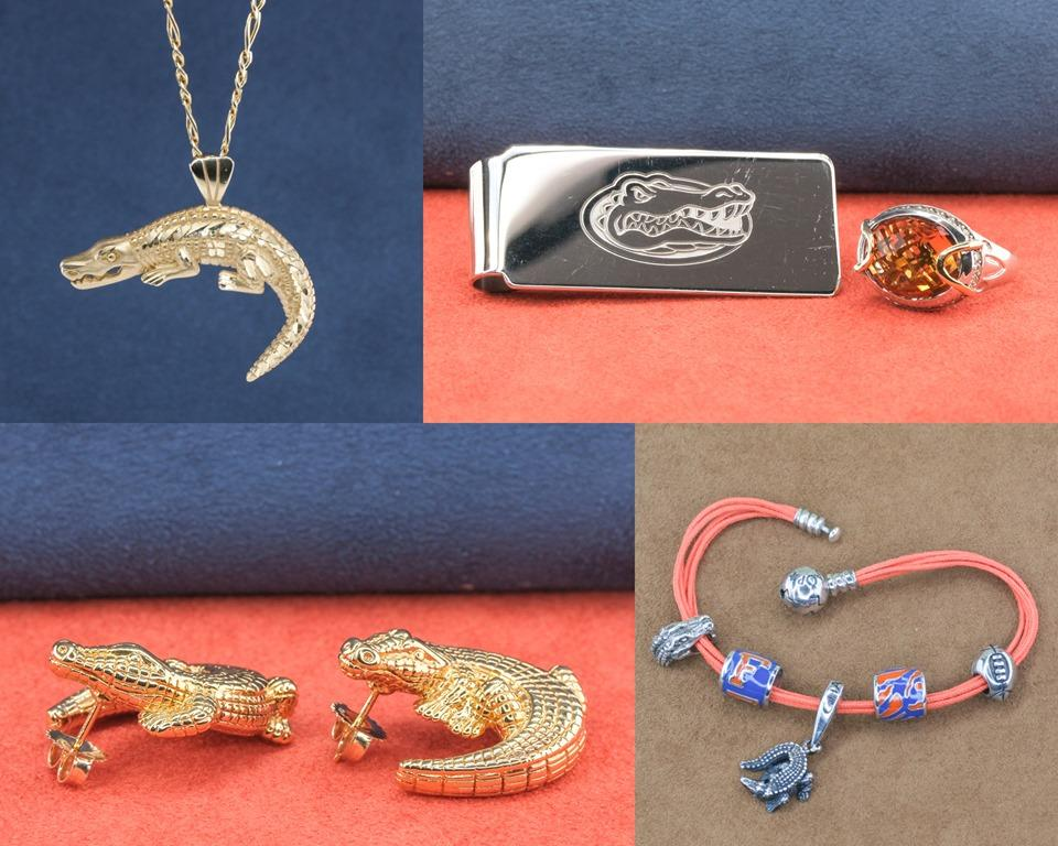 Gator Jewelry for UF Game Day