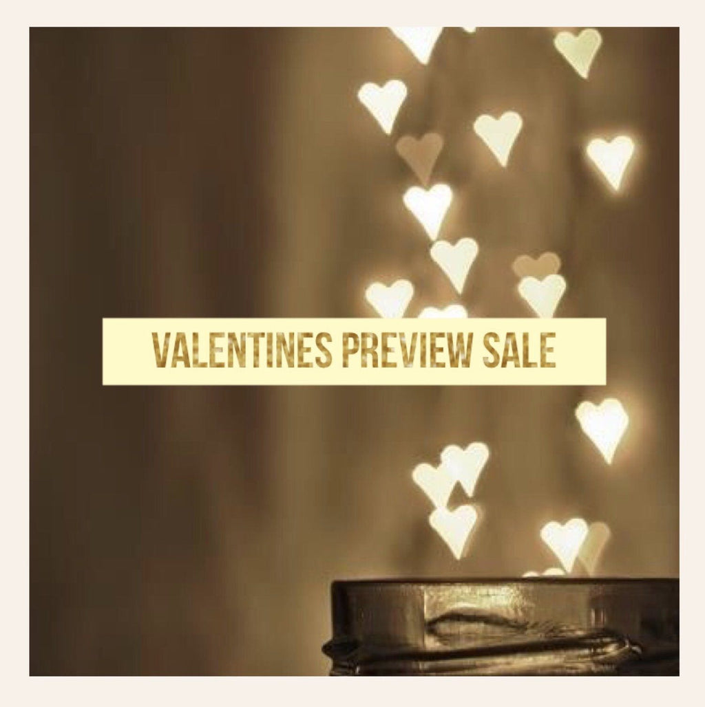 Valentine's Day Preview Sale