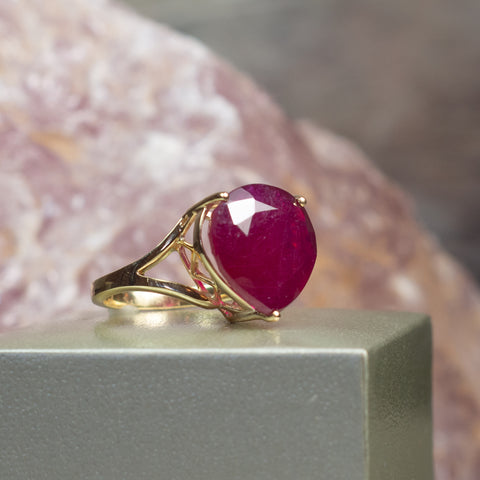 July Ruby Birthstone