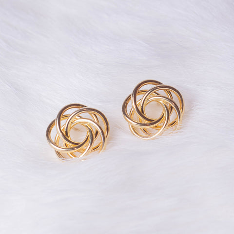 gold stud earrings, gainesville FL