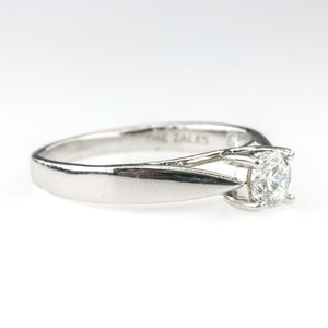 0.40ct SI1/H Octillion Cut Diamond Solitaire Engagement Ring Size in Platinum Engagement Rings Zales