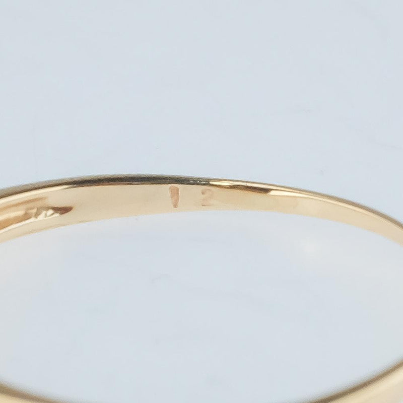 14K Yellow Gold 0.25ctw Tension Set Diamond Accents Wedding Band Ring Size 7.5 Wedding Rings Oaks Jewelry