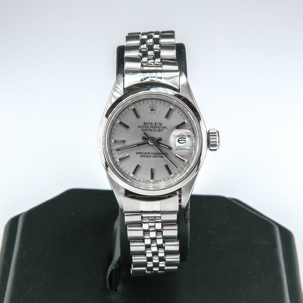1972 Ladies Rolex Stainless Oyster Perpetual Datejust 26mm 6916 Watch Watches Rolex