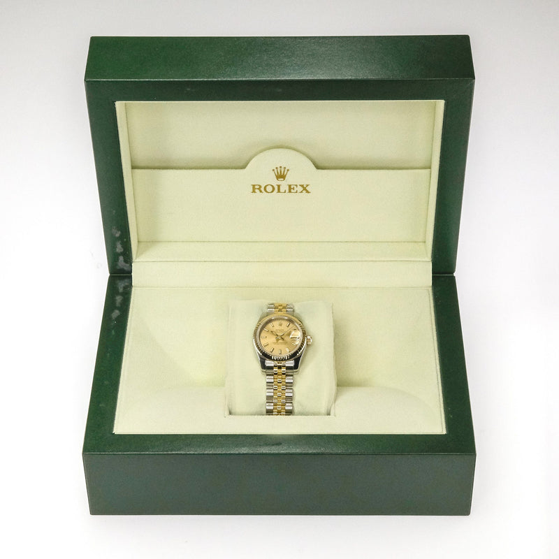 2004 Ladies' Rolex Datejust 18K Yellow Gold & Stainless Steel 26mm Watch Watches Rolex