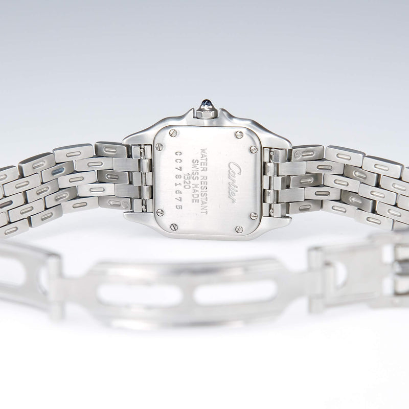 Cartier Ladies Panthere 1320 Stainless Steel Quartz Watch Watches Cartier