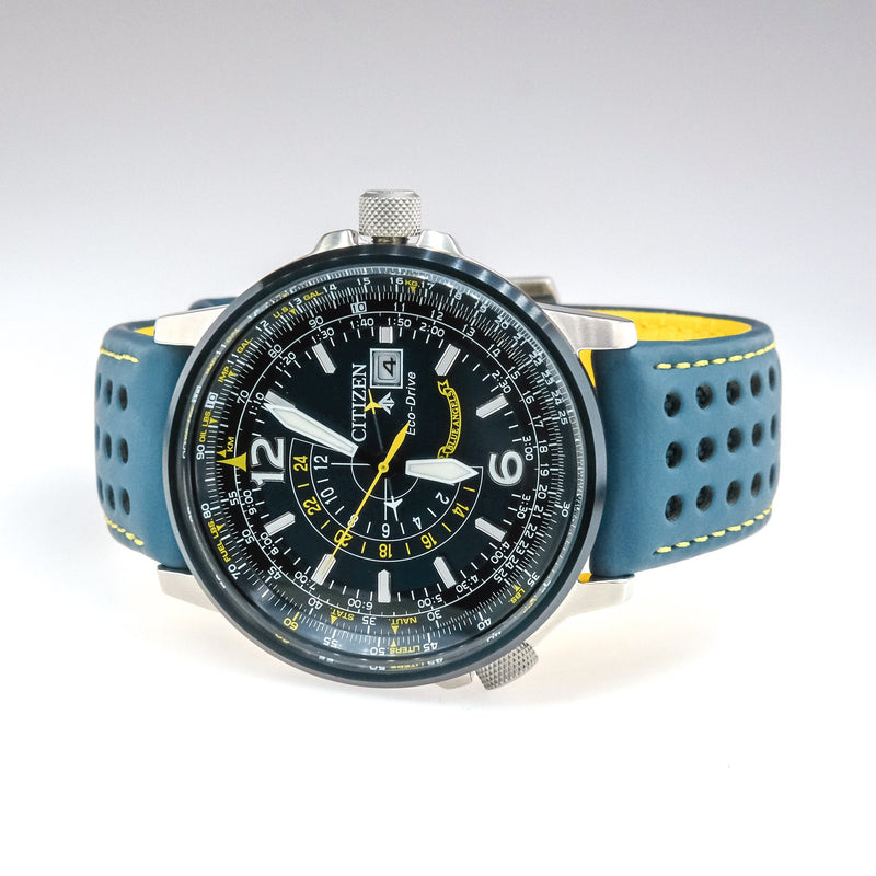 Citizen Eco-Drive Blue Angels Promaster Nighthawk 42mm Men's Watch BJ7007-02L Watches Citizen
