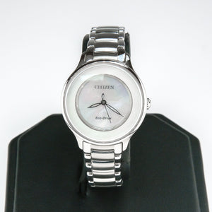 Citizen Eco-Drive Circle Of Time Ladies Watch EM0380-81D Watches Citizen