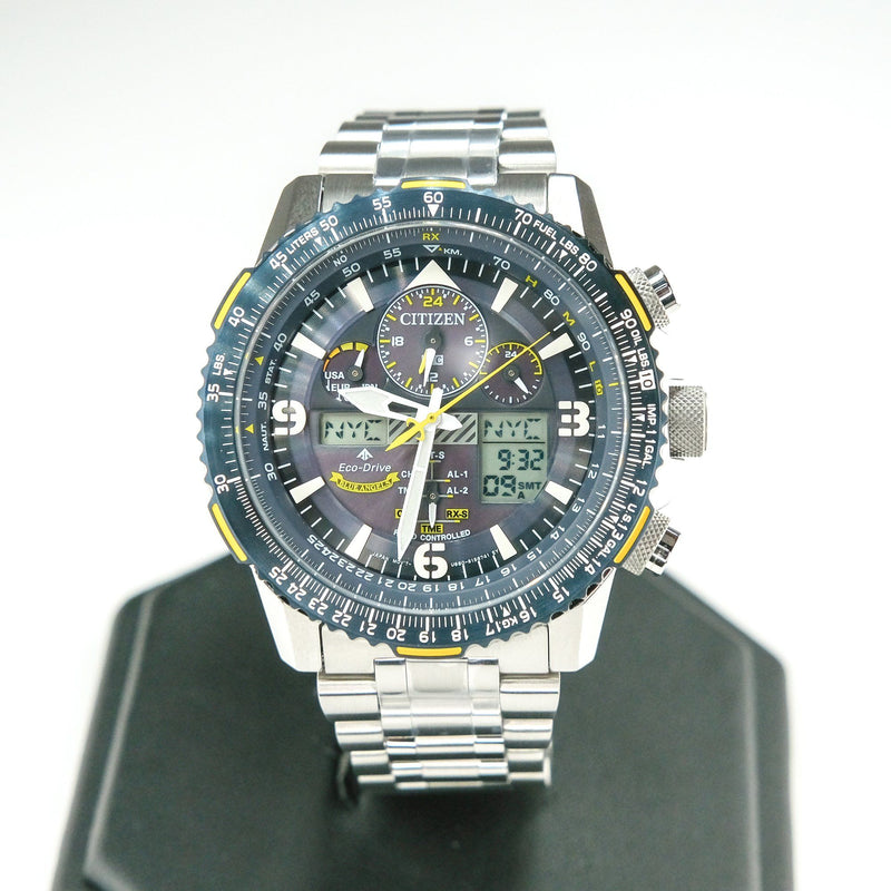 Citizen Eco-Drive Promaster Skyhawk A-T Men's Stainless 46mm Watch JY8078-52L Watches Citizen