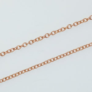 "New 14K Rose Gold 1.58ct Morganite & Diamond Accents Fixed Pendant 18"" Necklace Pendants with Chains Oaks Jewelry"