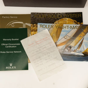 Rolex Yachtmaster 16628 White Dial Watch with Box and Papers Watches Rolex