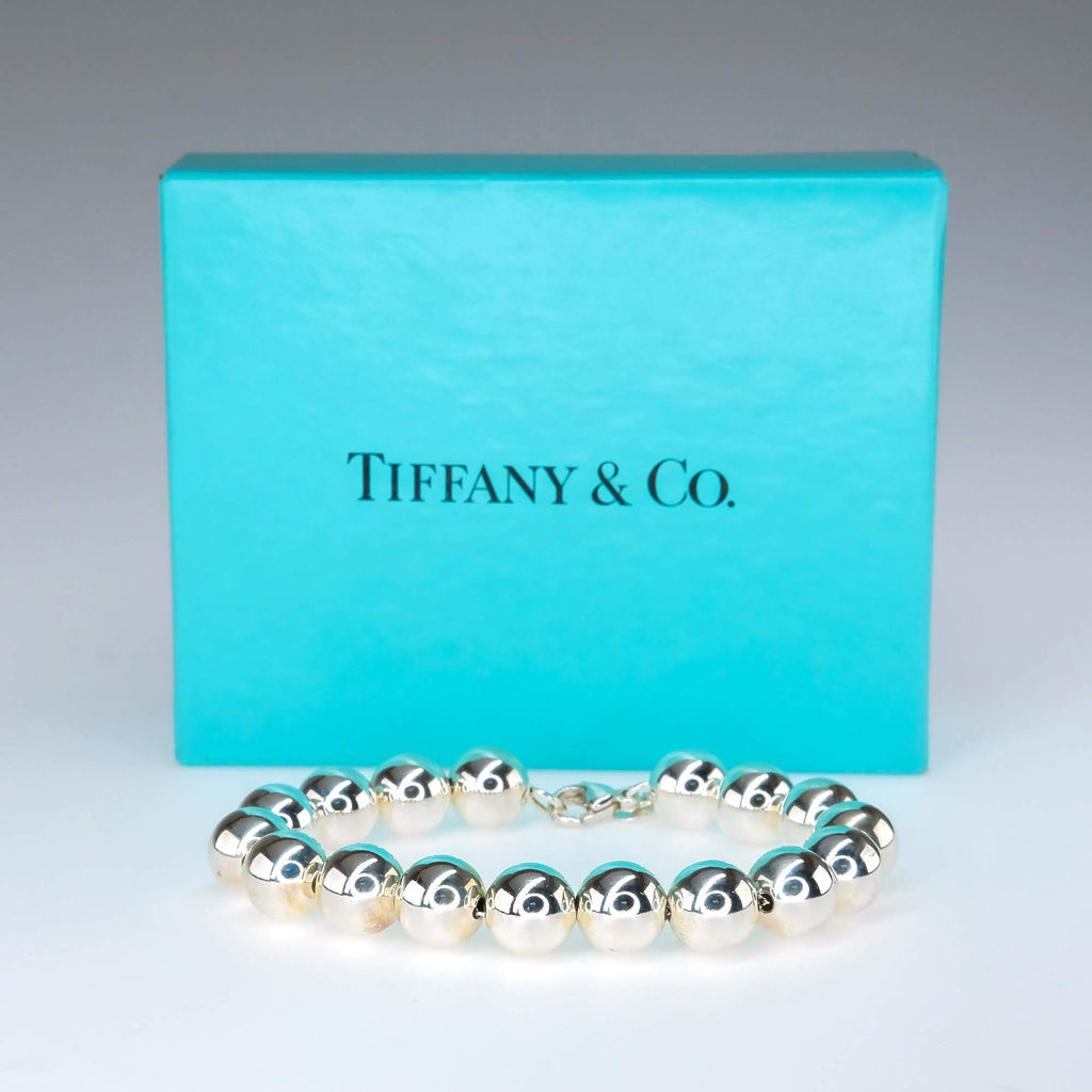 "Tiffany & Co. Ball Bracelet in Sterling Silver - 7.5"" Bracelets Tiffany & Co."
