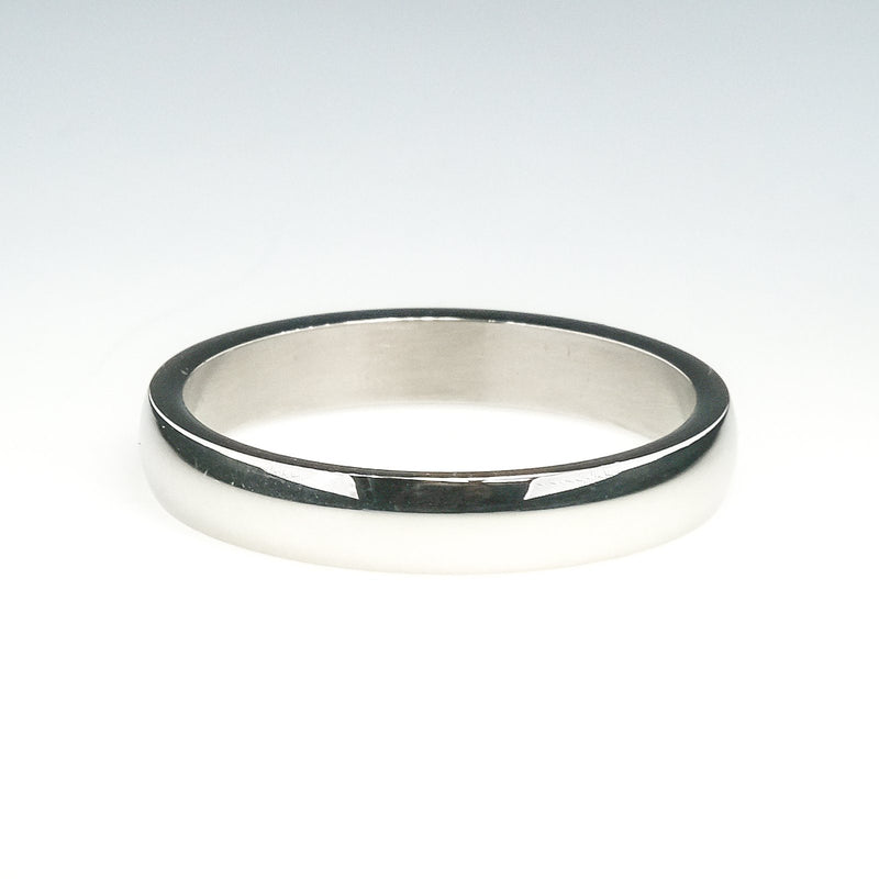 Tungsten 4.3mm Wide Half Round Wedding Band Ring Size 12.25 Wedding Rings Oaks Jewelry