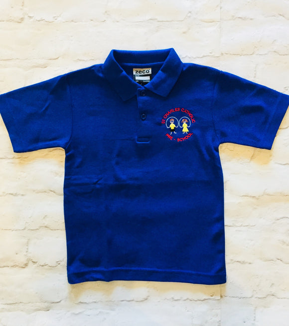 St Charles' Polo shirt