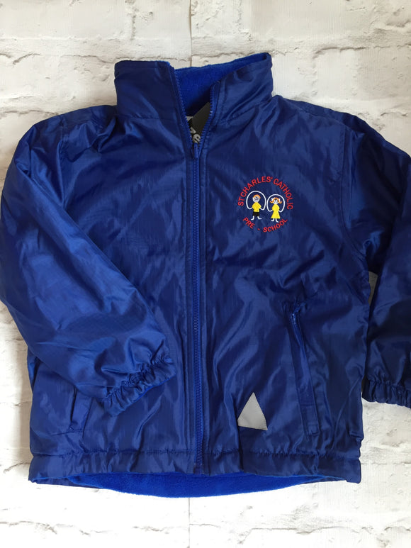 St Charles' Reversible Fleece Showerproof Jacket