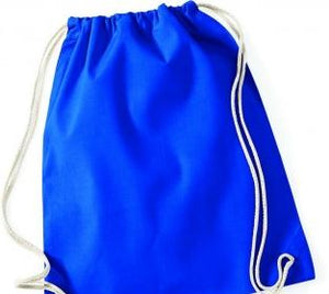 PE Bag - various colours - 100% cotton