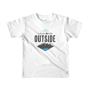 Humans Outside | Short sleeve kids t-shirt