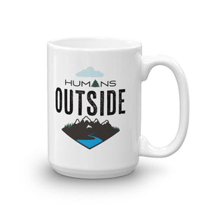 Humans Outside Mug