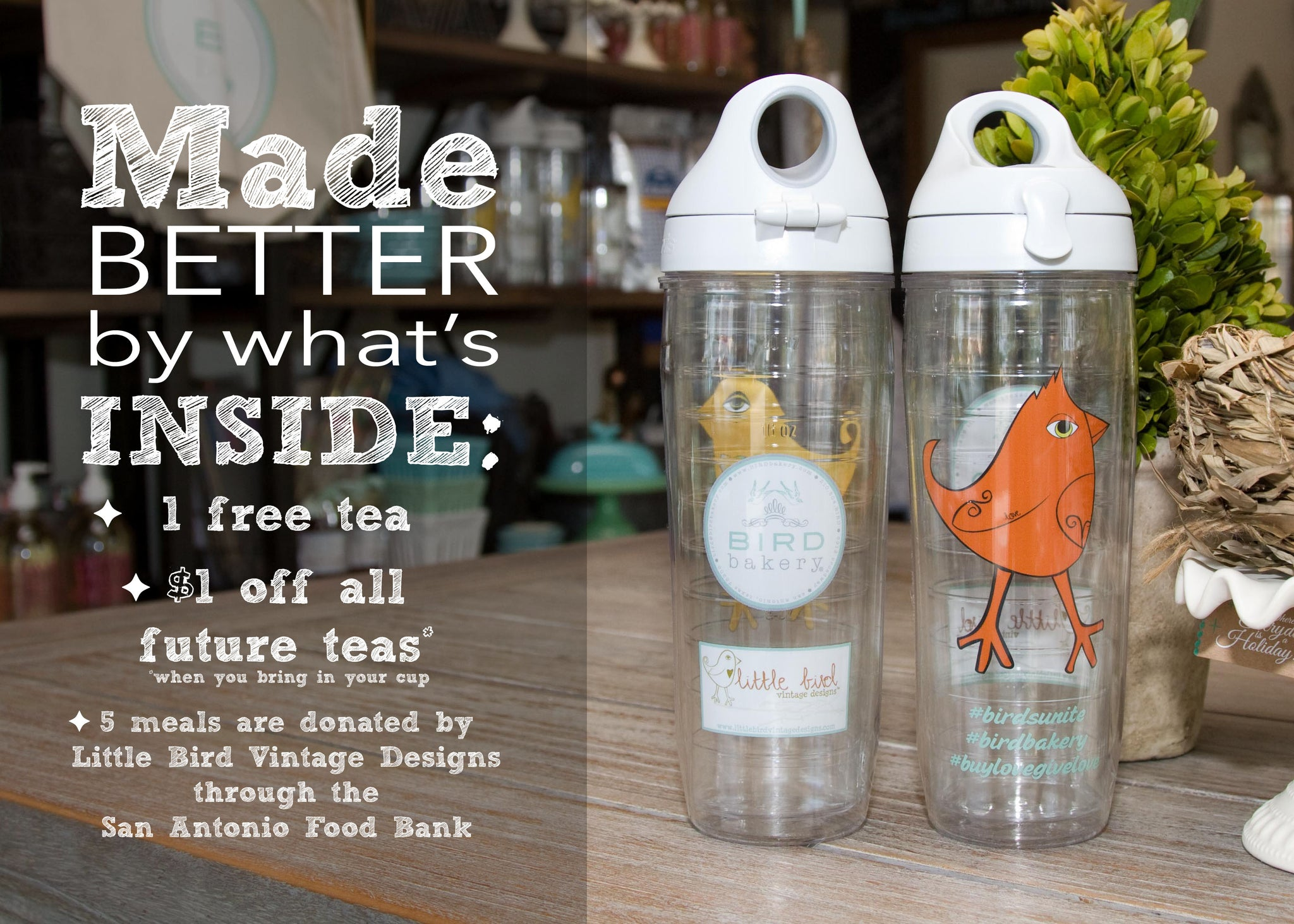 EXCLUSIVE BIRD Bakery & Little Bird Tervis
